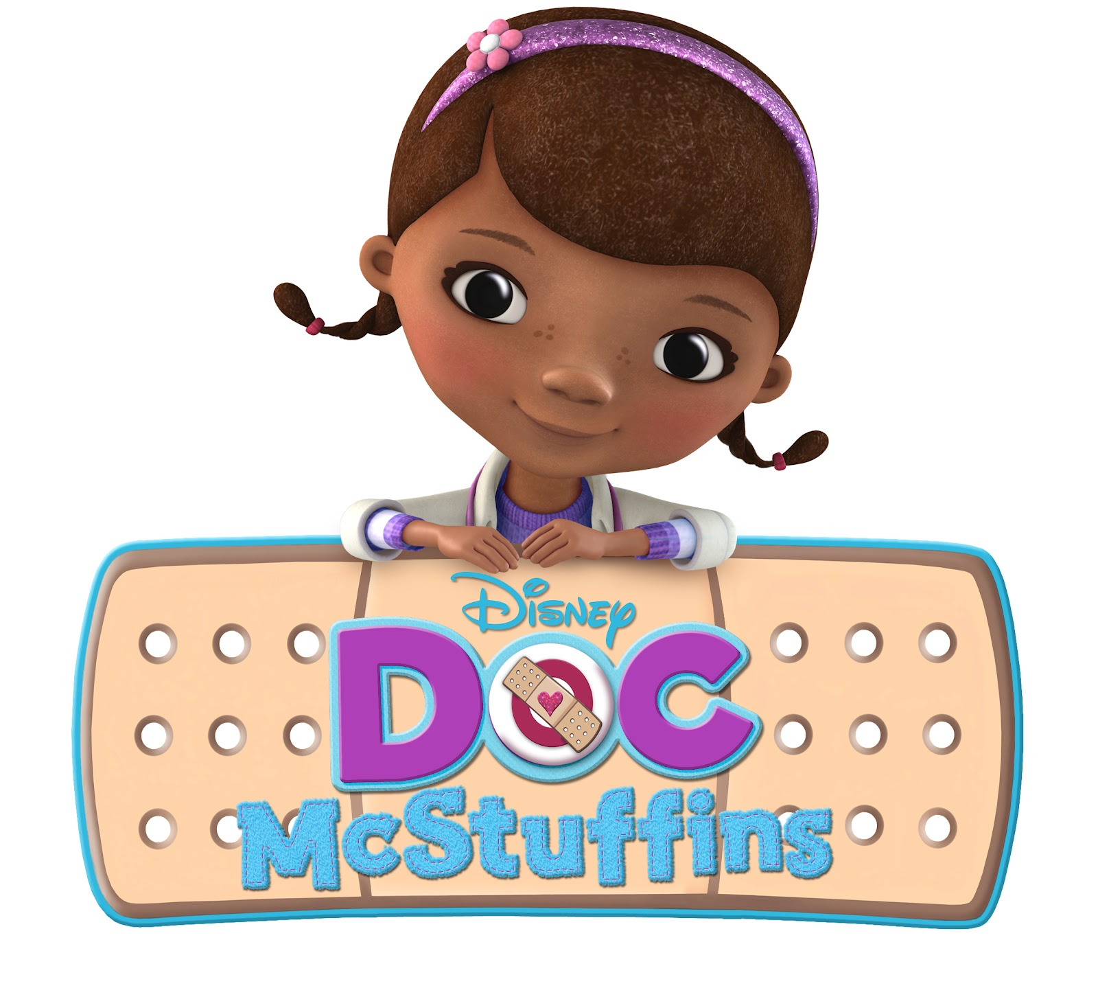 Disney Doc McStuffins Giant Stickers Collection : 100% Disney licensed.  Theme : All Better! Colours : Pink & Lavender Chilly, Stuffy, Doc McStuffins,  ...