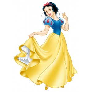 Poster g ant blanche neige et les 7 nains princesse disney - La princesse blanche neige ...