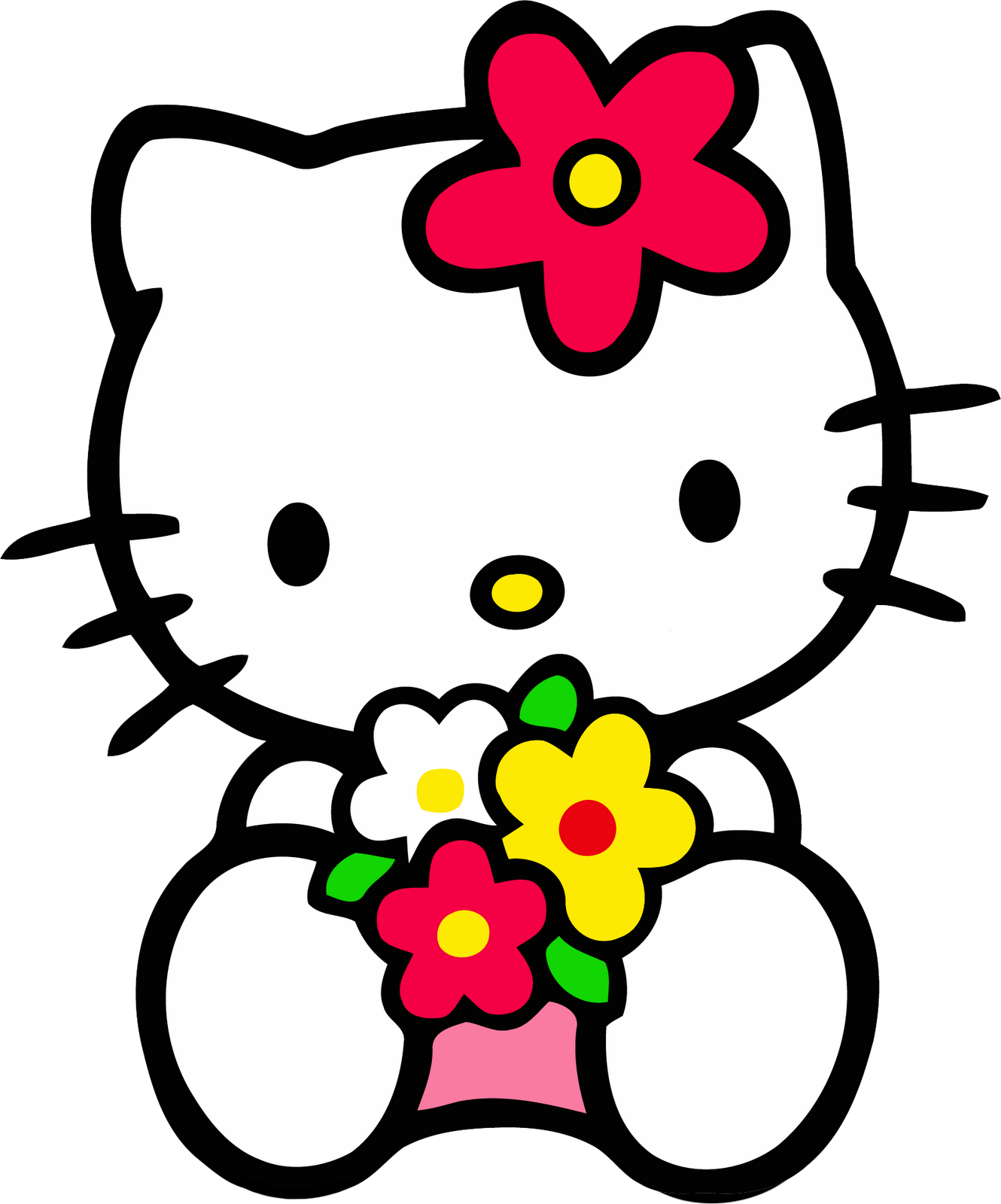 Amazing Wallpaper Hello Kitty Rose - Hello_Kitty_Flowers  Gallery_615691.png