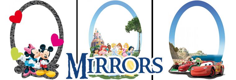 Kids Bedroom Mirrors mirrors | kids mirrors with great-kidsbedrooms.co.uk