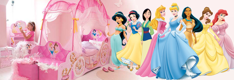 Disney Princess | Disney Princess Bedroom with Great Kids Bedrooms