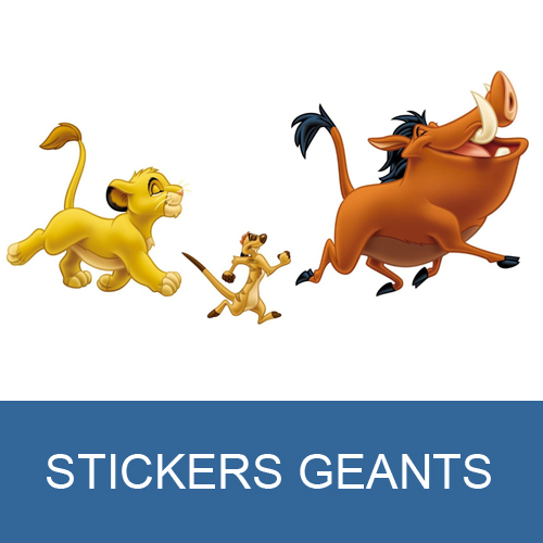 Sticker Simba le Roi Lion Disney