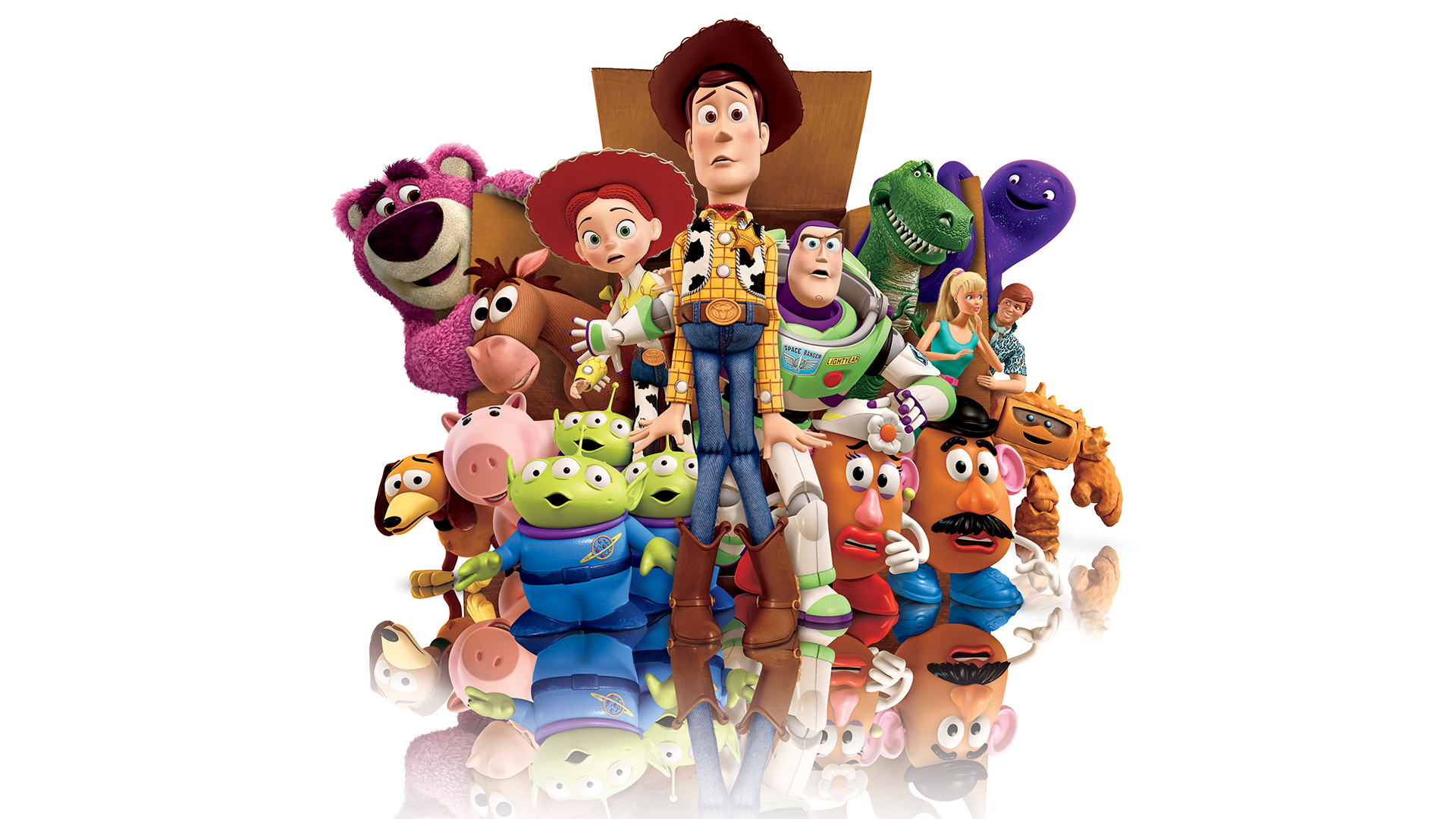 Why Not Choose This Bright Colourful And Totally Amazing Mural Decoration Featuring The Disney Toy Story XXL Wallpaper